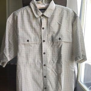 Patagonia Island Hopper Short Sleeve Shirt Large